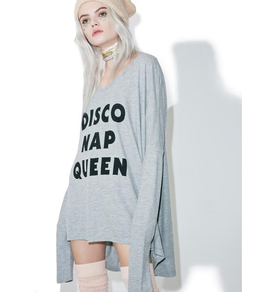 Wildfox Couture Disco Nap Alana Top