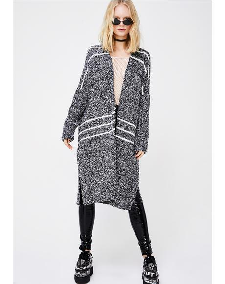 Get In Line Knit Cardigan