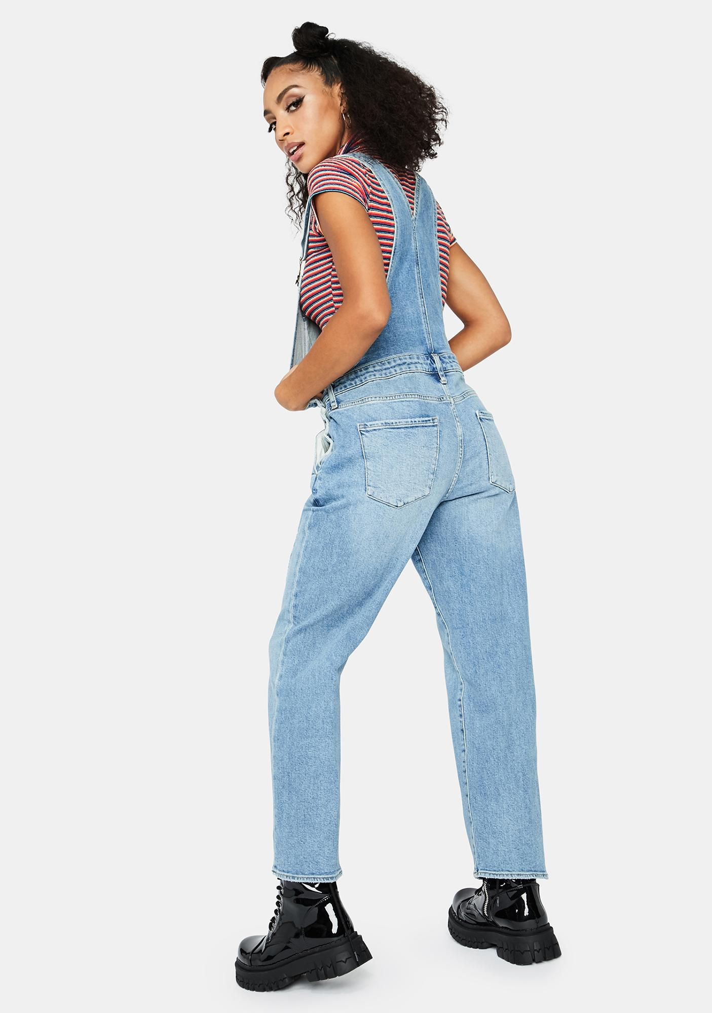 Articles of Society Moorhead Blue Woodstock Overalls