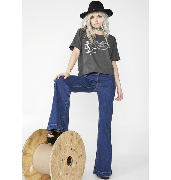 Rodeo Club Rhinestone Tee