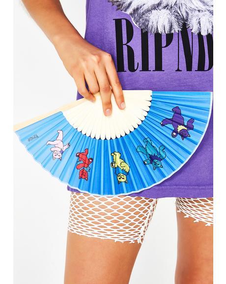 Dancing Nerm Hand Fan