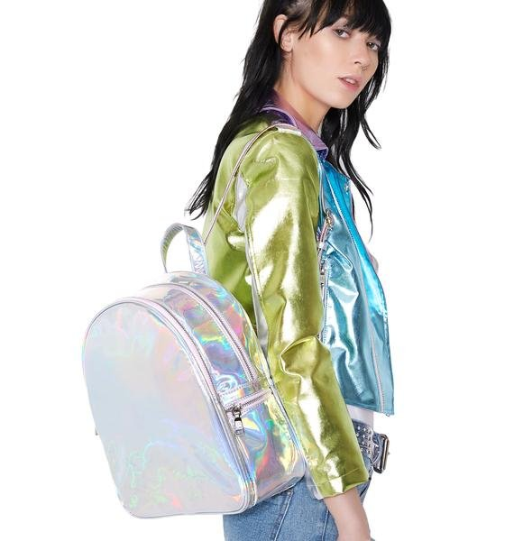 Sugar Thrillz Holla Back Girl Backpack
