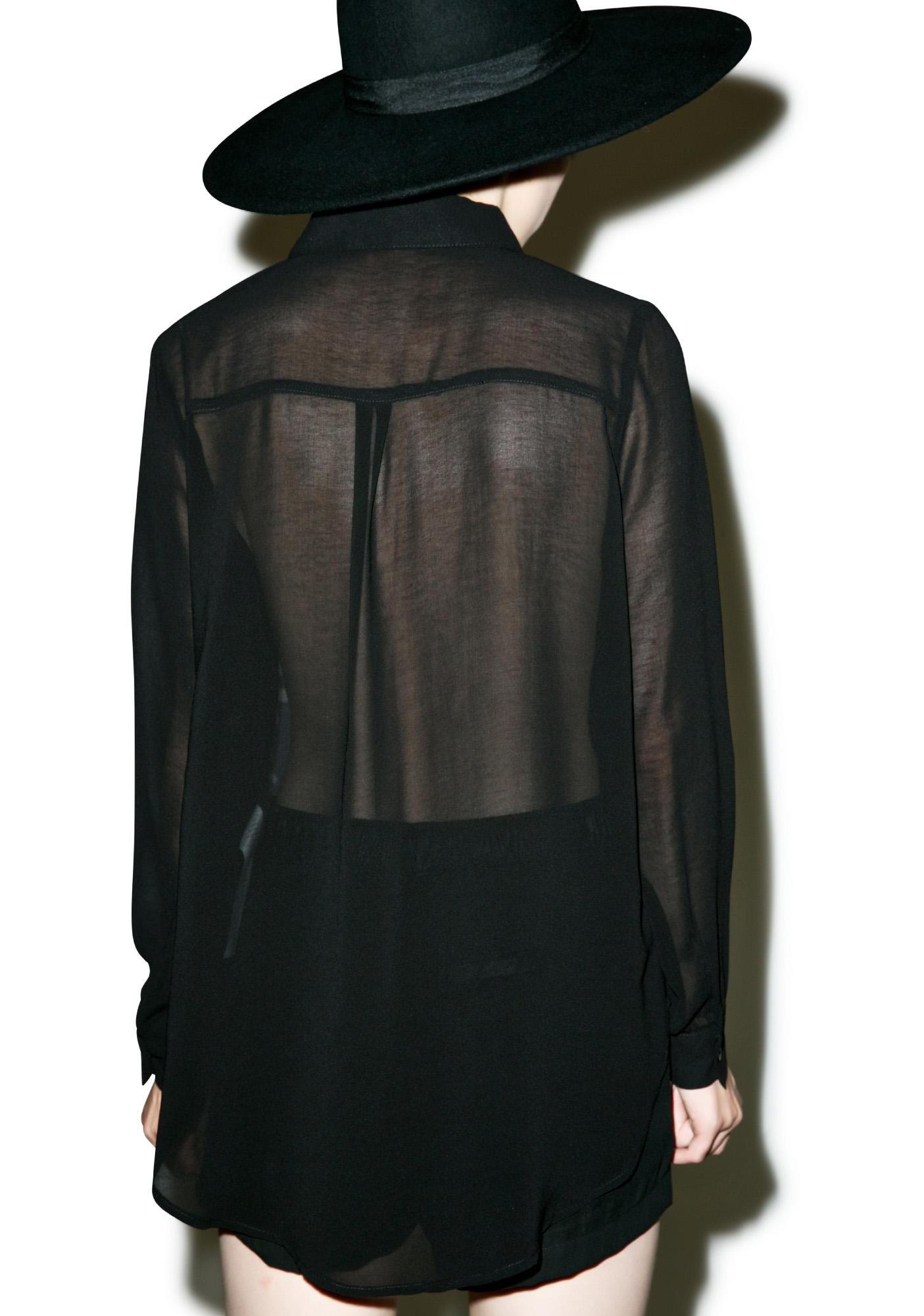 Iron Fist Conjoined Blouse