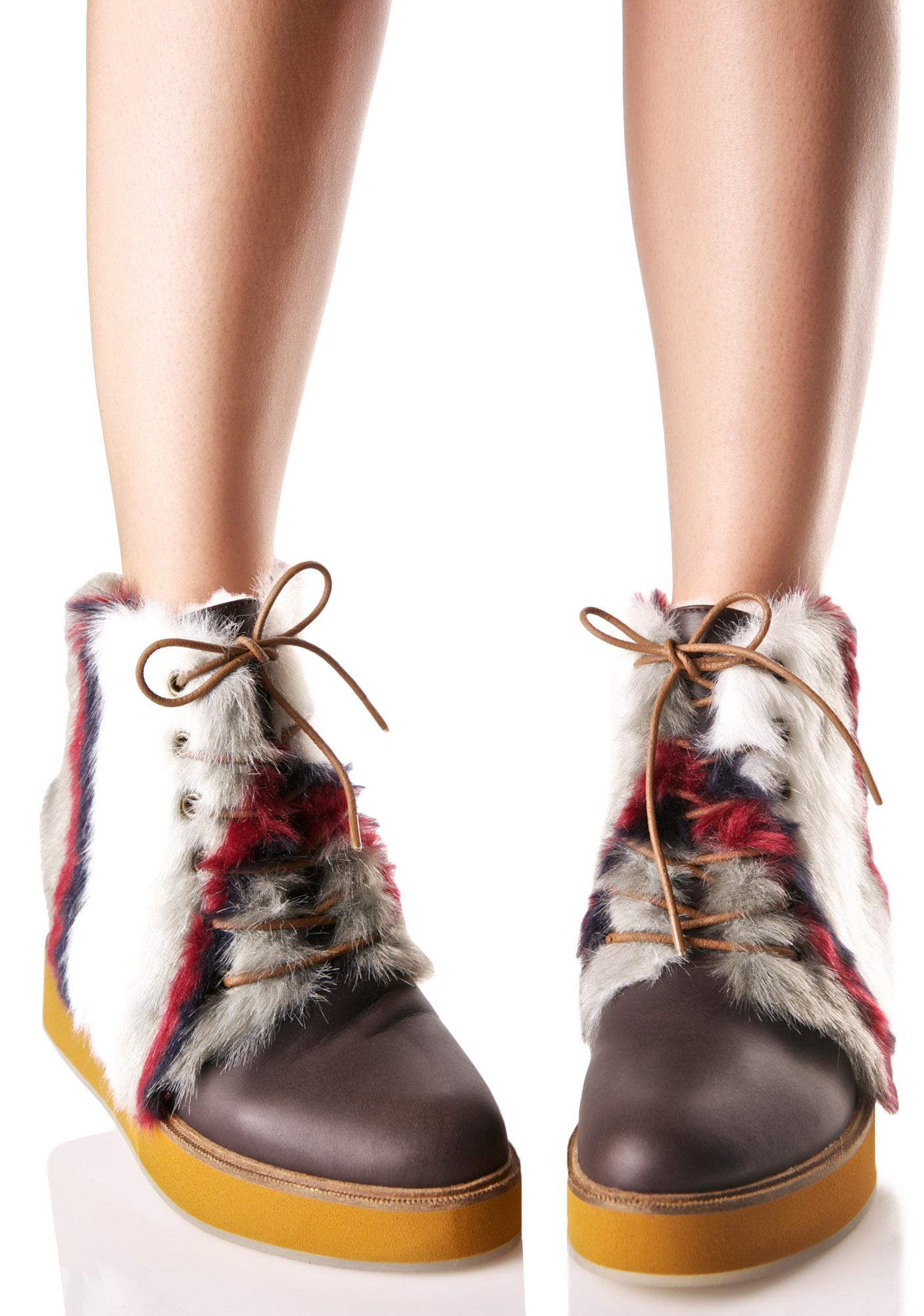 Australia Luxe Collective Bundaburg Striped Boots
