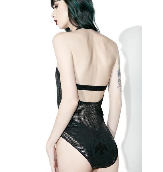 Killstar Morgana Workaholic Bodysuit
