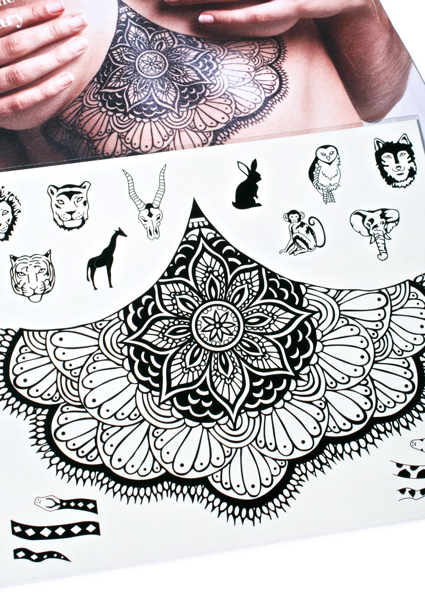 Supreme Instincts Temporary Tattoos
