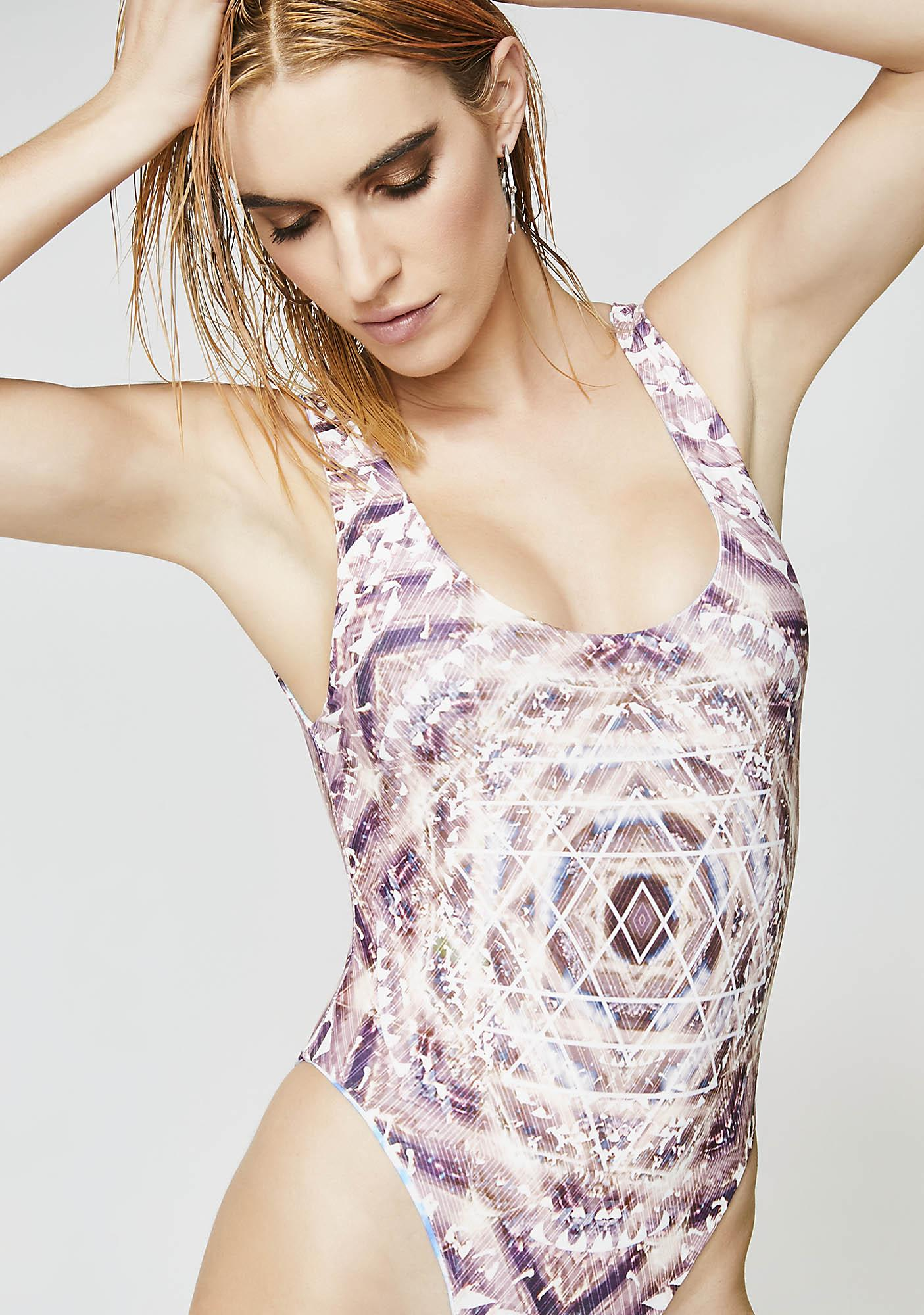 Wolven Threads Harmonic Echo Reversible One Piece