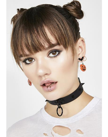 All Hallow's Eve Jack-o-Lantern Earrings