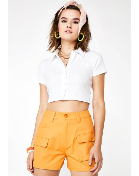 Beamin' Baby High Waist Shorts