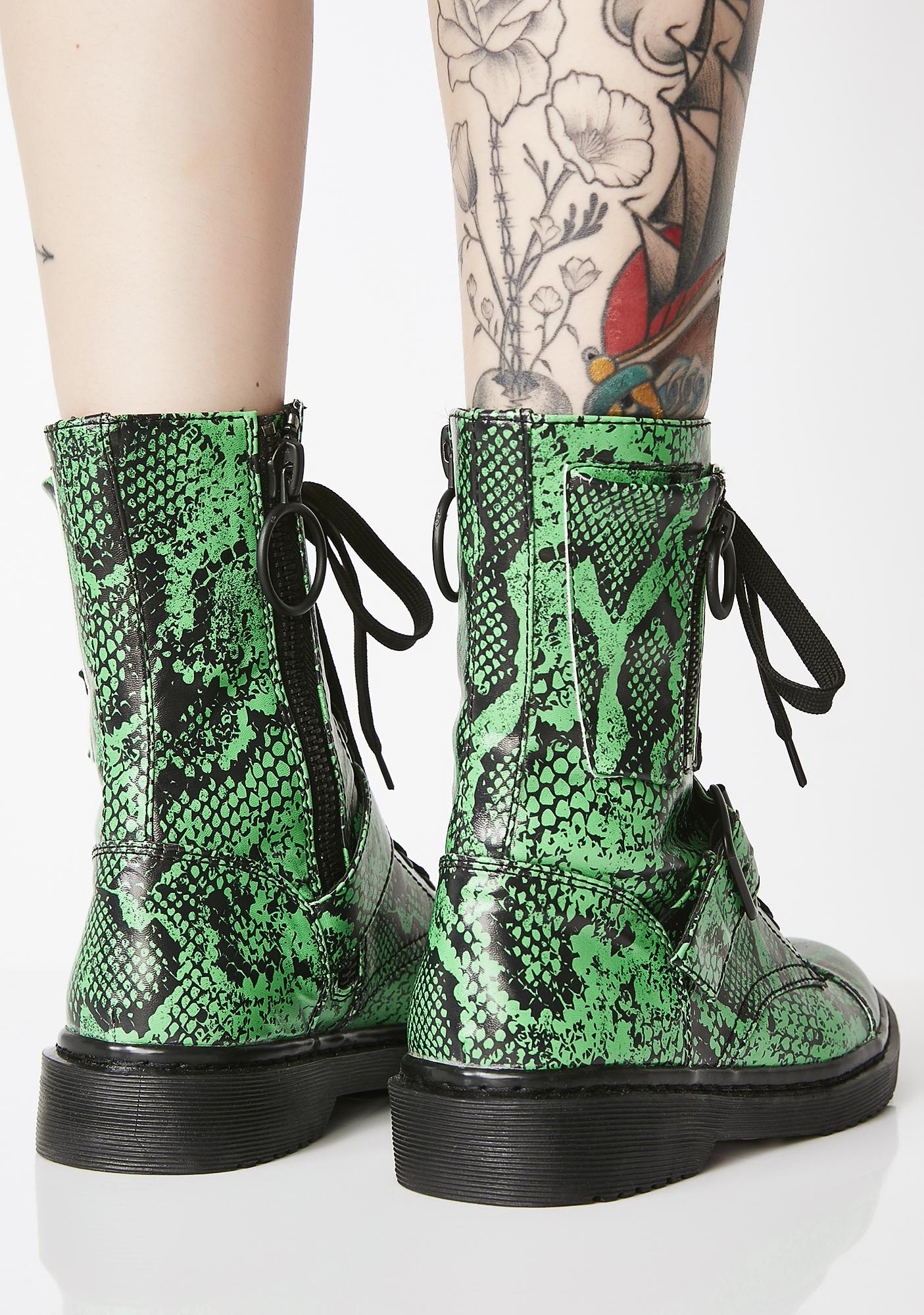 Current Mood Slithery Sneak Combat Boots