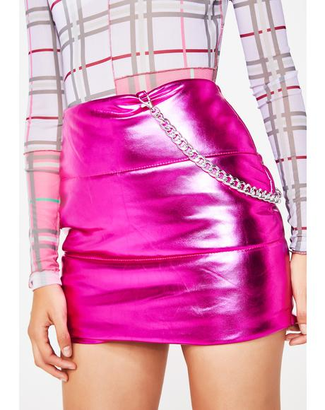 Pixie Bratitude Puffer Skirt