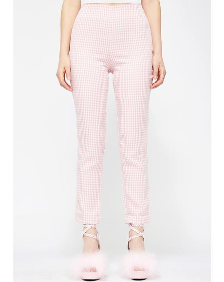 Doll DNA Gingham Pants