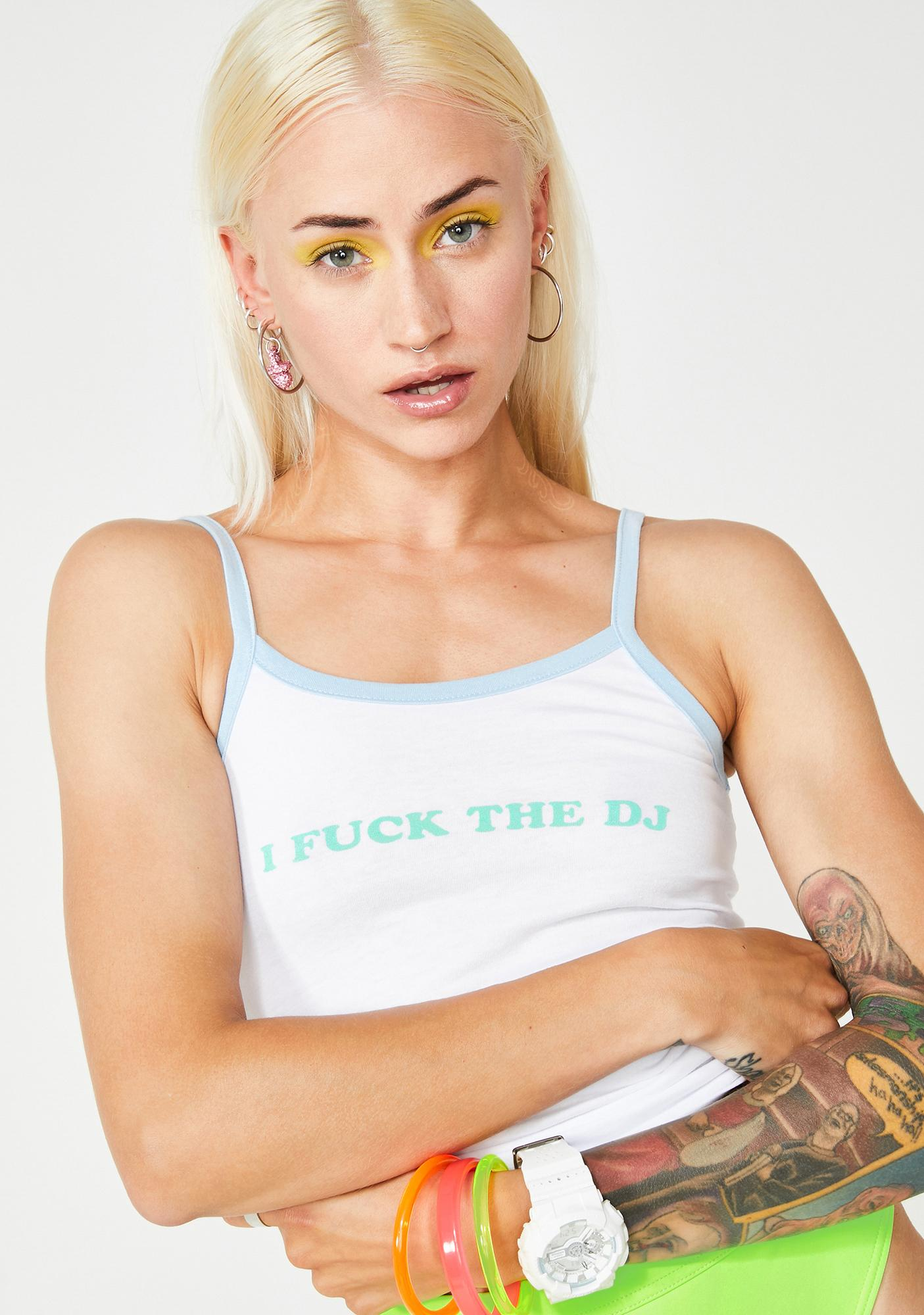 not another label Fucked The DJ Tank Top