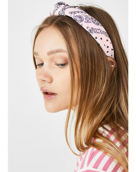 Cute But Bad Bandana Headband