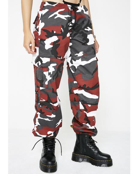 Lit Army Brat Cargo Pants