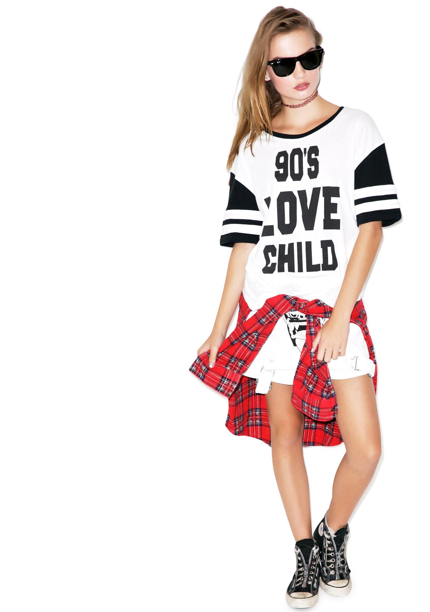 Mink Pink 90s Love Child Tee