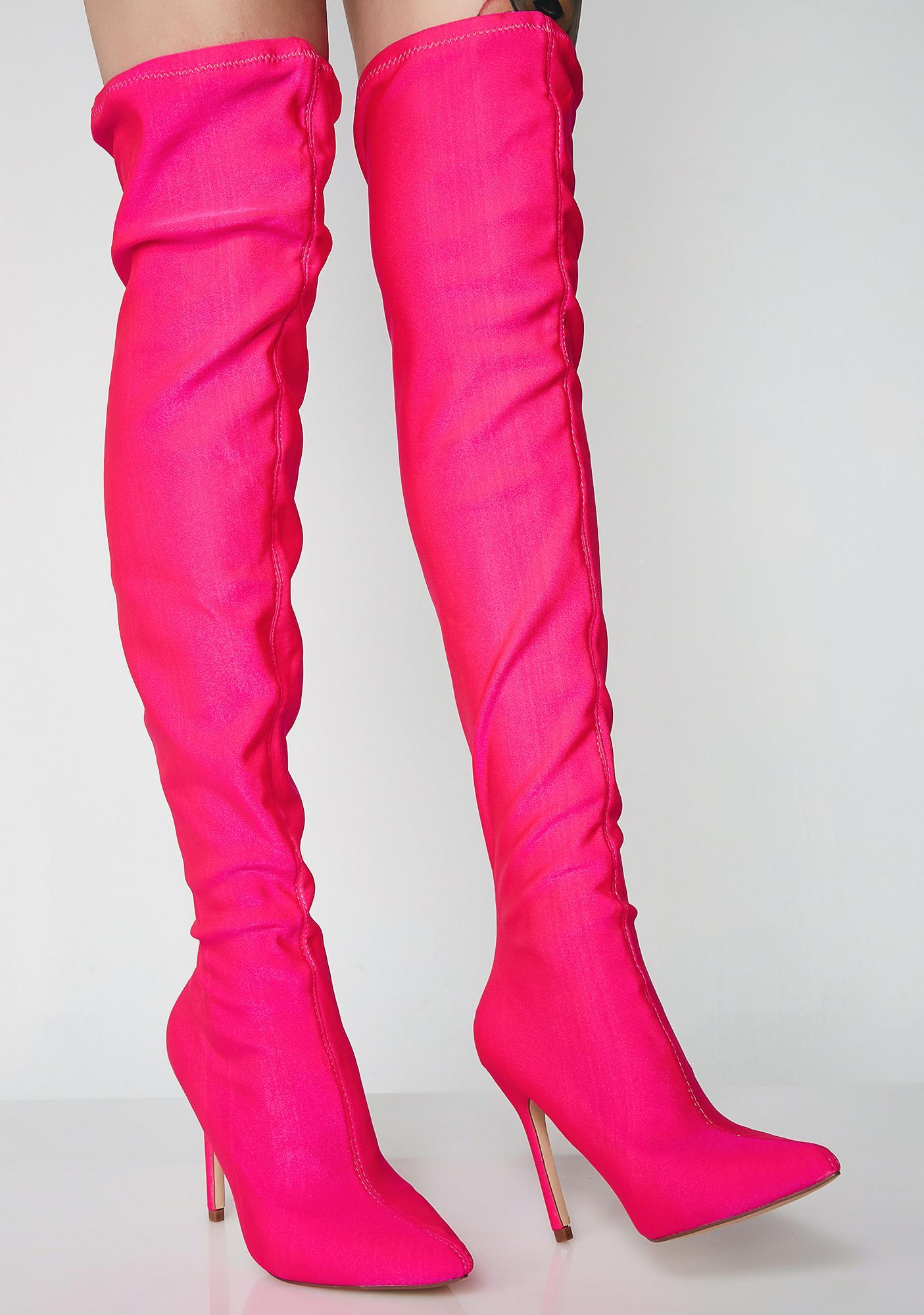 Sugar Keep Lookin' Over The Knee Boots