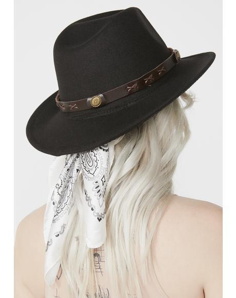 Raisin' Hell Wide Brim Hat