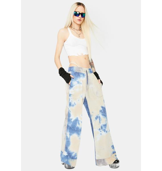 Beachy Bum French Terry Flare Lounge Pants