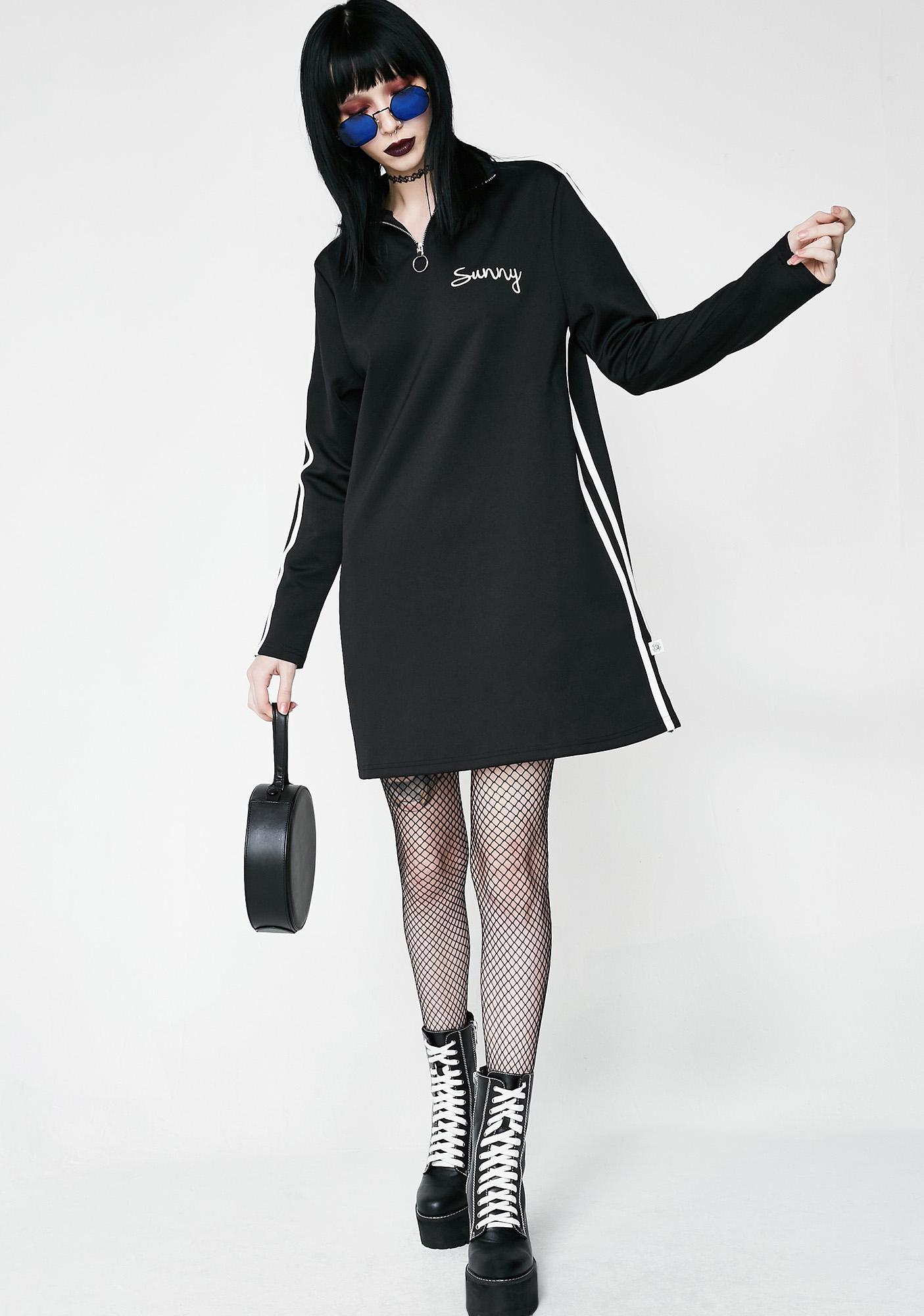 Little Sunny Bite Sporty Zip Dress