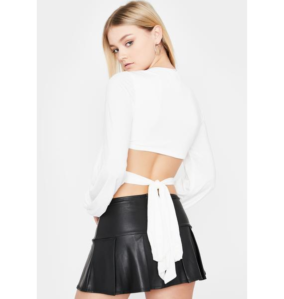 Icy Bad Boys Only Wrap Top