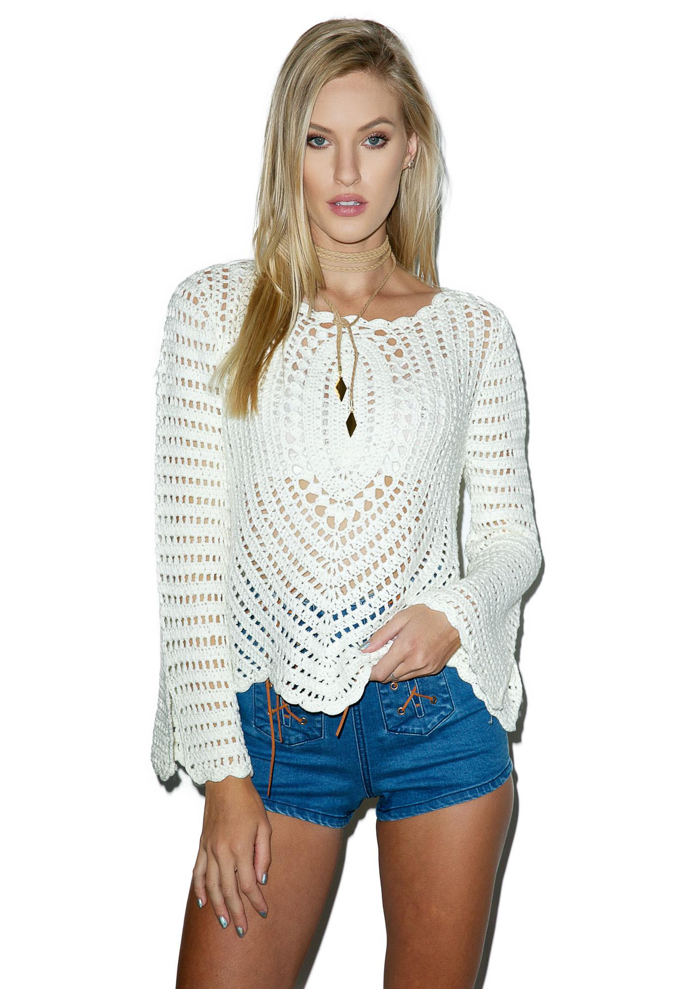 Kelsey Crochet Top