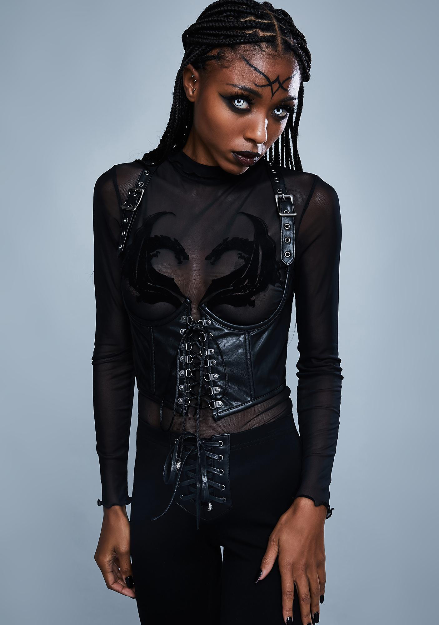 Widow Mortal Enemy Underbust Corset