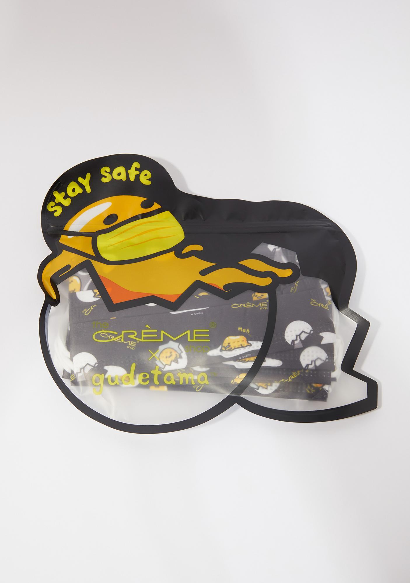 The Crème Shop Gudetama Disposable Protective Face Masks