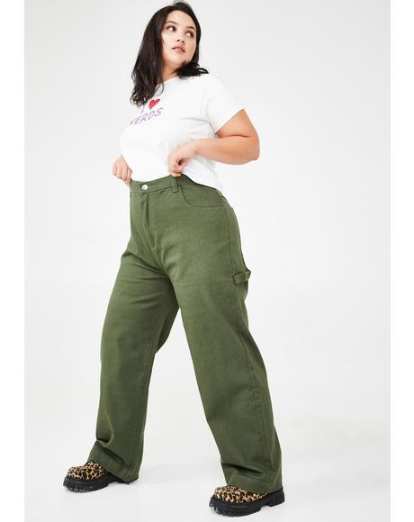 The Working Girl Carpenter Pants
