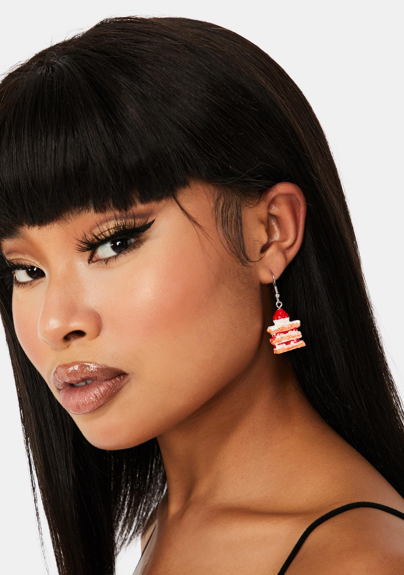 Sugar Coated Drop Earrings