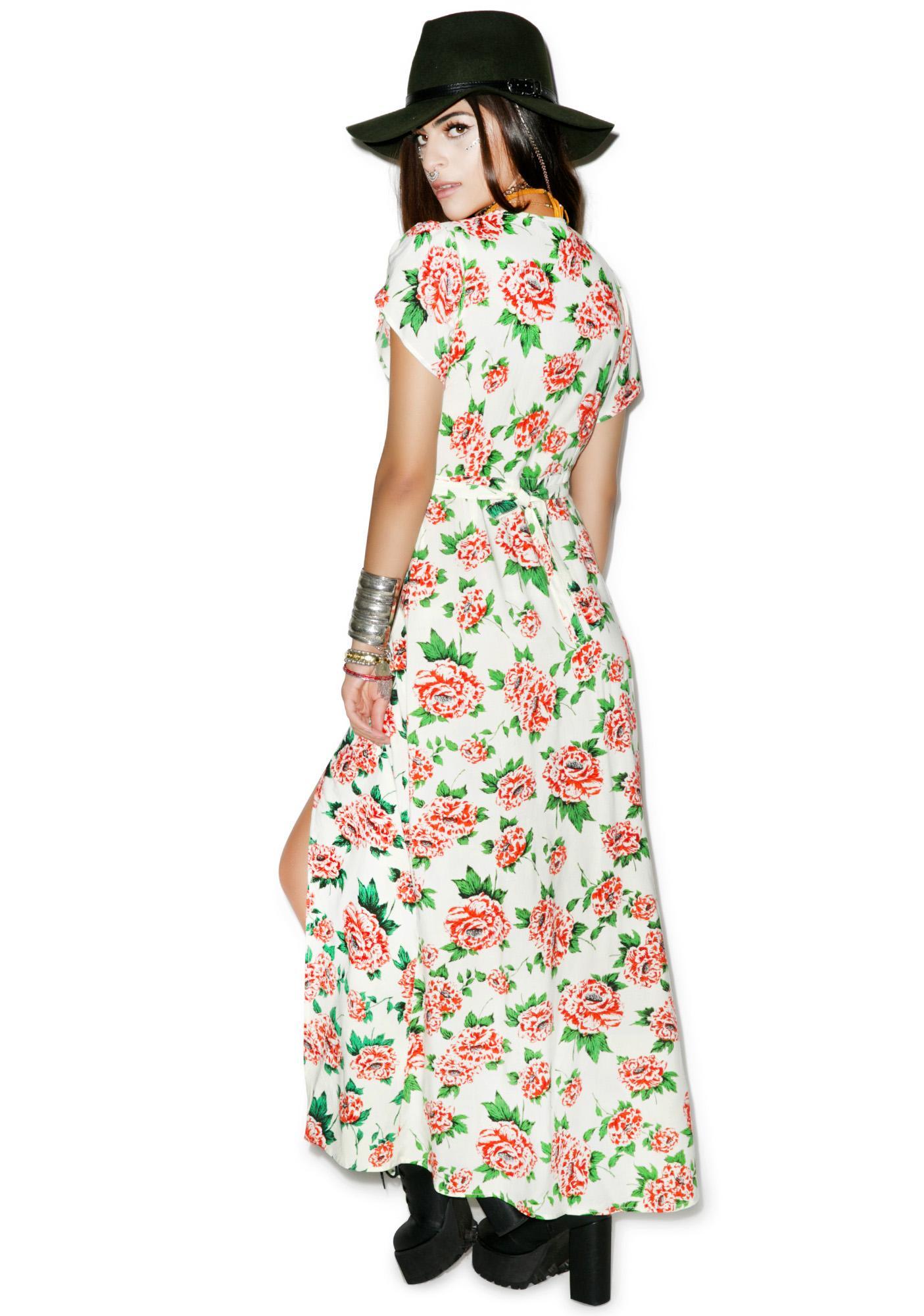 Motel Violetta Maxi Dress