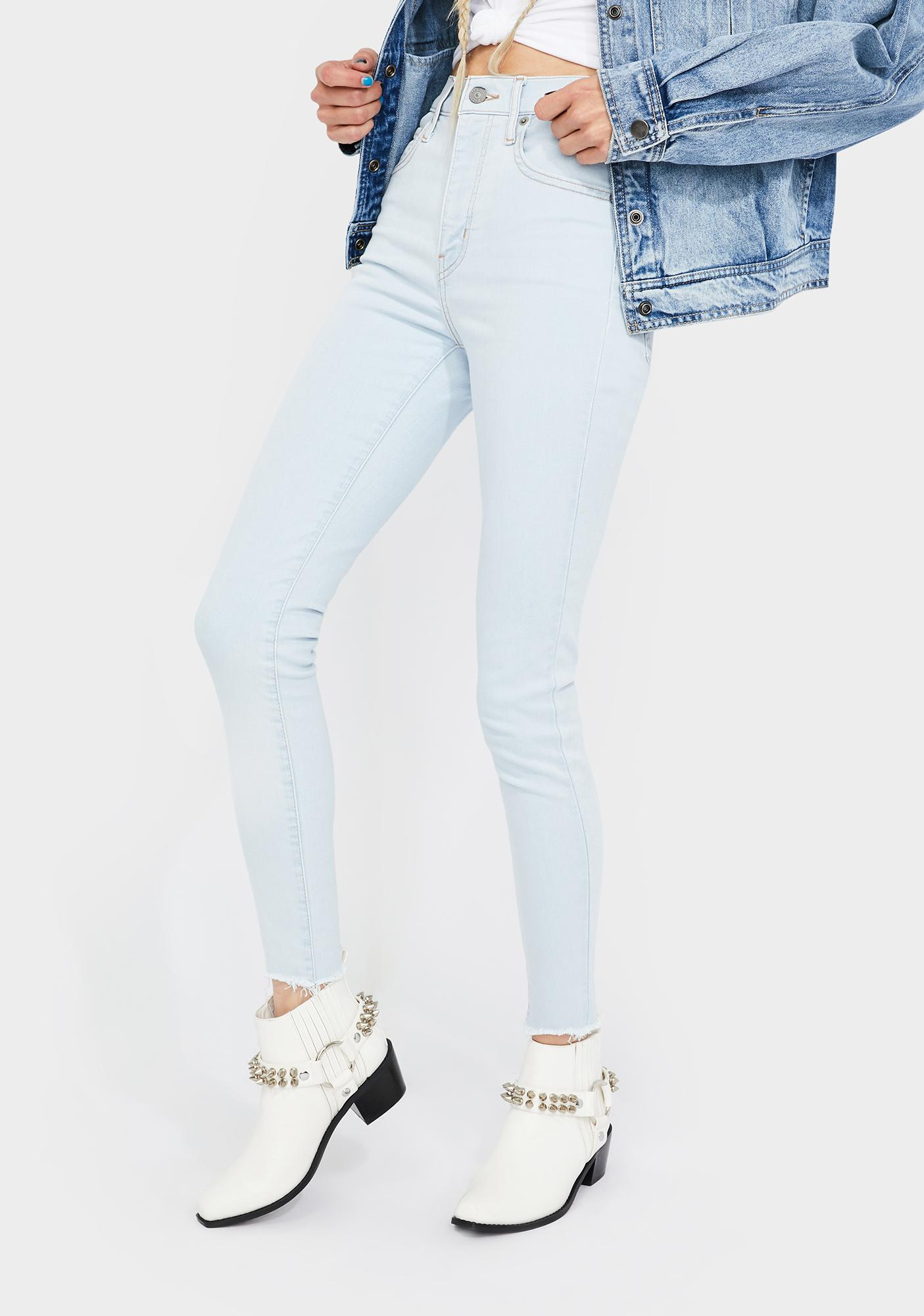 Levis Down To Mars Mile High Super Skinny Jeans