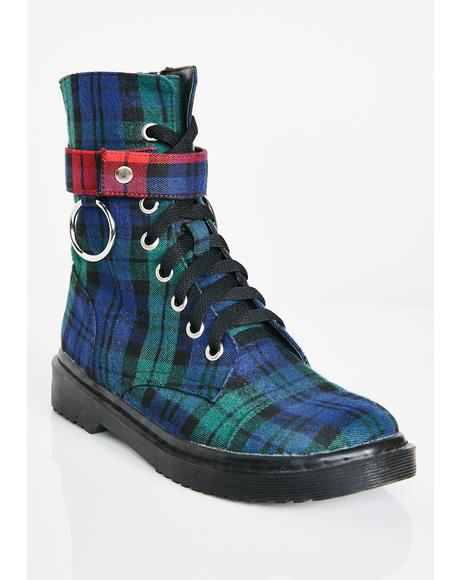 Rebel Behavior Combat Boots