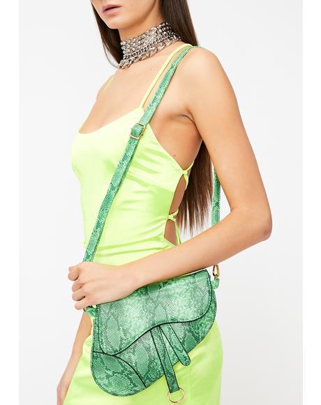 Nuclear Couture Creature Saddle Bag