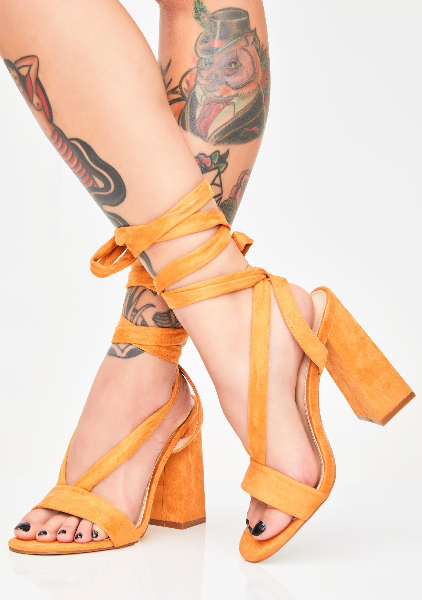 d86e9419bc2d7 Public Desire Admire Strappy Suede Heels   Dolls Kill