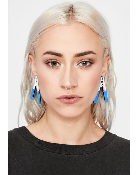 Gimme A Jump Drop Earrings