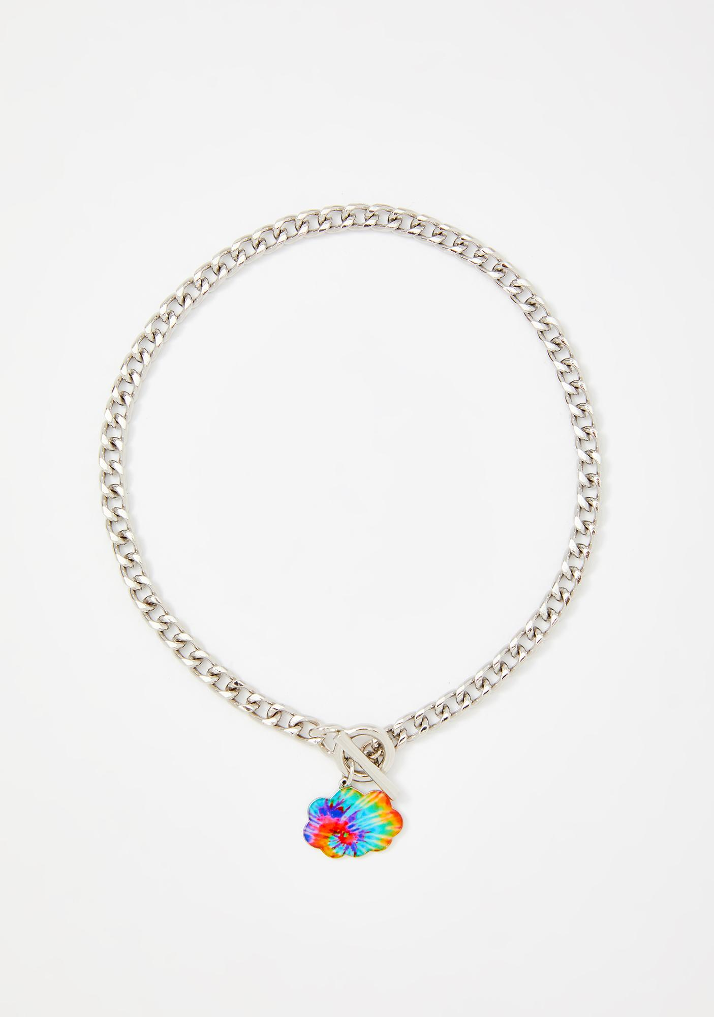 Head In The Clouds Chain Necklace