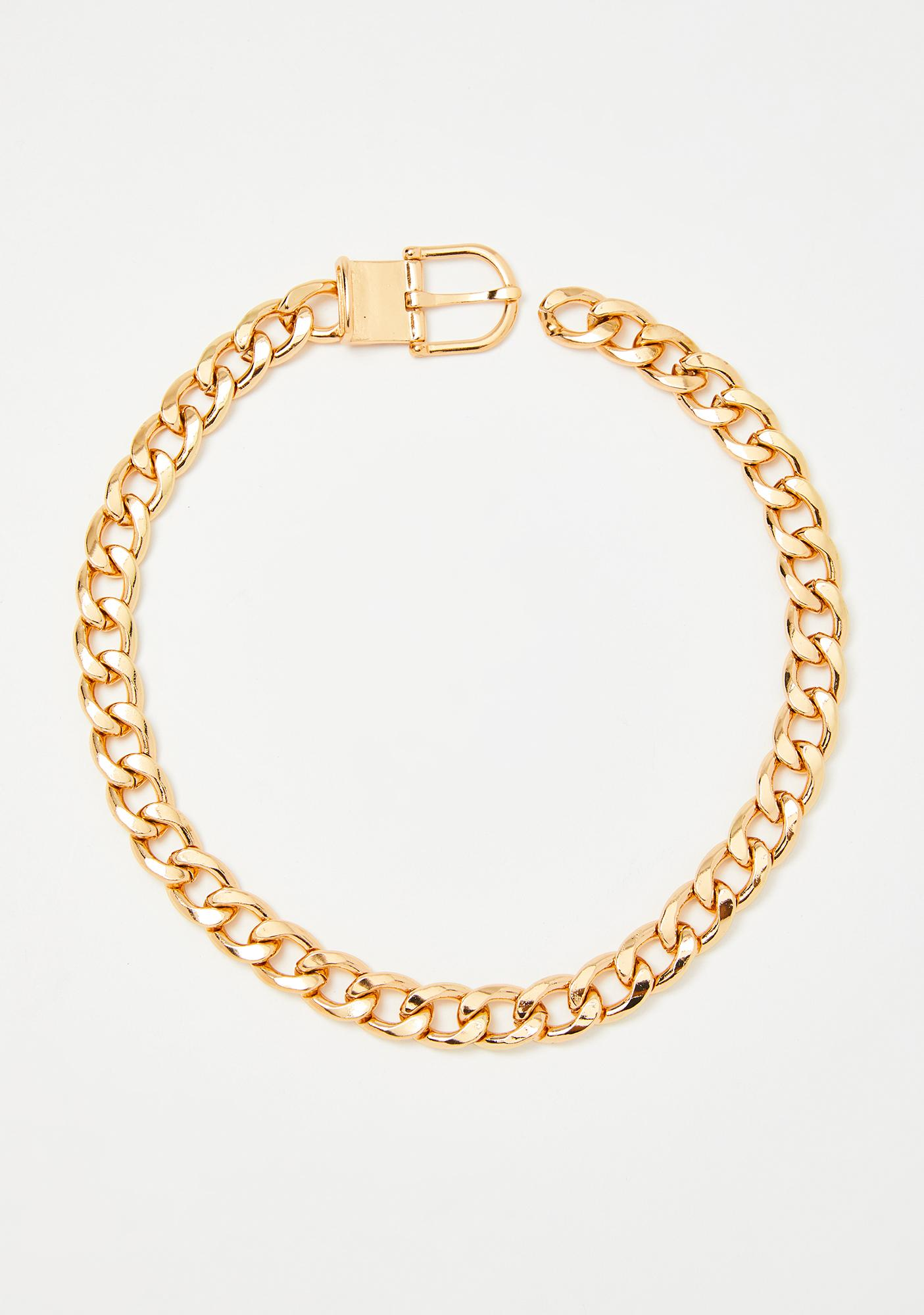 Hard To Handle Chain Necklace