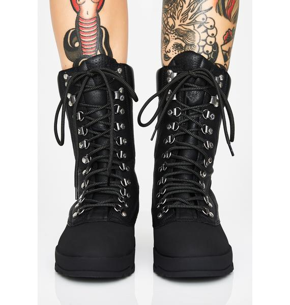 VAGABOND SHOEMAKERS Jill Lace Up Boots