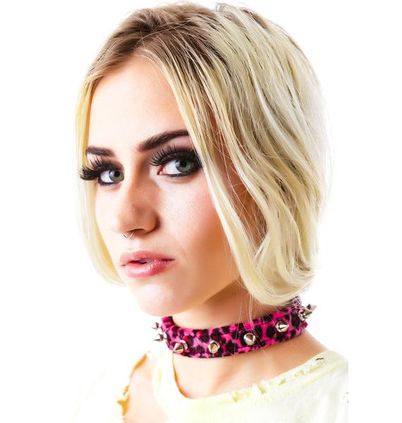 Club Exx Animal Party Spiked Choker