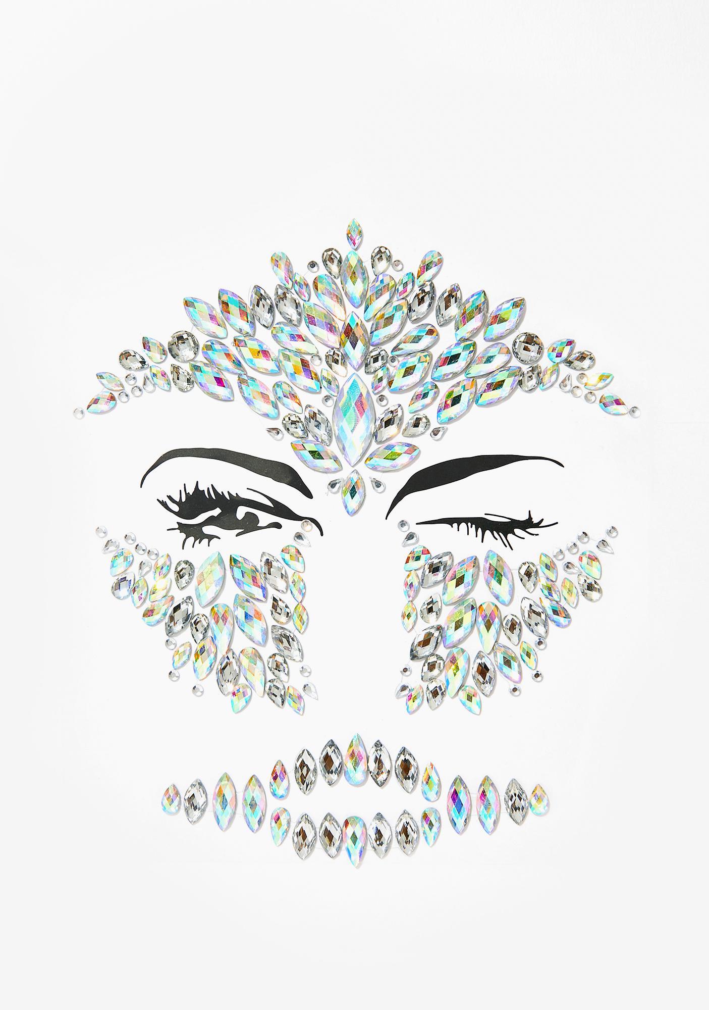 SHRINE Diamond Skull Full Face Jewel