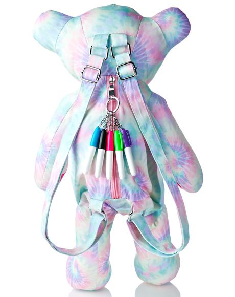 Scribble Bear Backpack