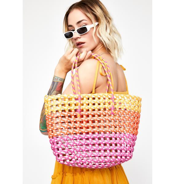 Craving Summer Basket Bag