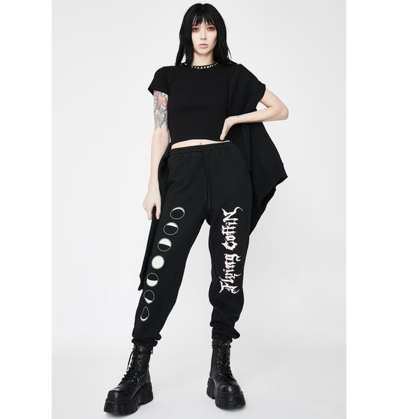 Flying Coffin Phases Graphic Sweatpants