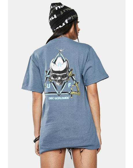Blvd Triple Triangle Short Sleeve Graphic Tee