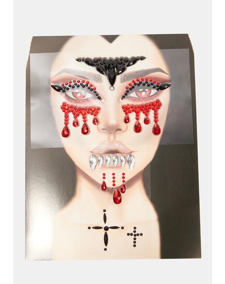 Vampire Vixen Face Jewels