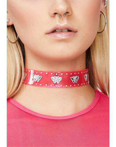 High Fantasy Butterfly Choker
