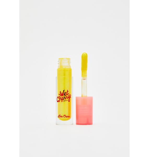 Lime Crime Fluorescent Cherry Wet Cherry Lip Gloss