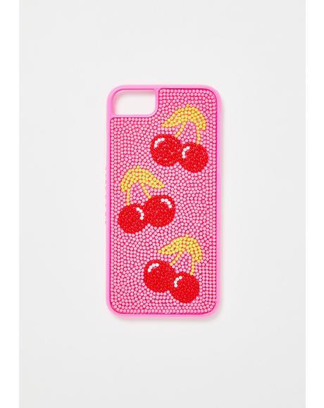 Cherry Bead Case