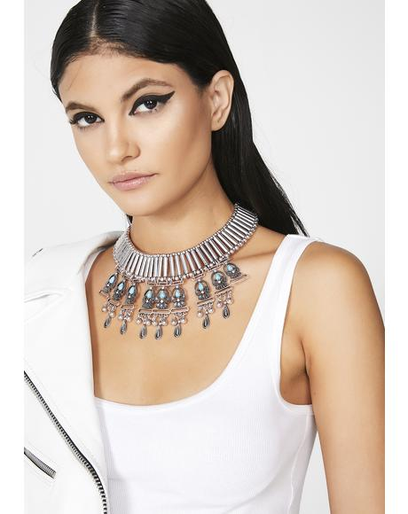 Floating So High Statement Necklace